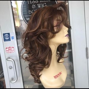Accessories - Wig Lacefront Swisslace Copper Brown Freepart Wig